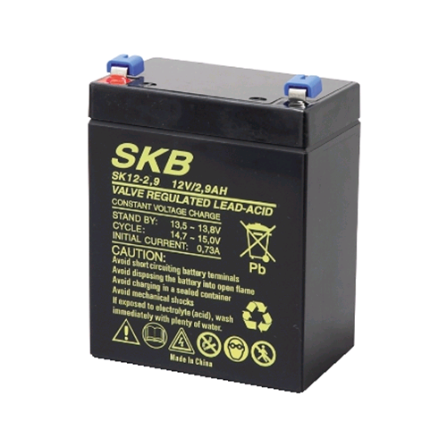 BATTERIA AL PIOMBO SKB 12V/2,9A FASTON 4,8MM