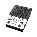 MIXER STEREO 3 CANALI 2 INGRESSI+CROSSFADER+16EFFETTI+TALKOVER