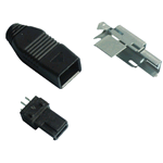 SPINA MINI USB TIPO A 4P A SALDARE