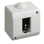 Custodia Portafrutti IP40 1P IDROBOX MAGIC MATIX BTICINO