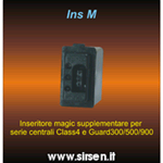 INSERITORE MAGIC PER CENTRALI ALLARME SERIE GUARD /CLASS/CK50 SIRSEN