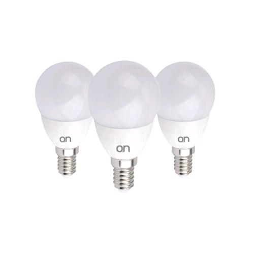 Equivalenza Lampade Led E Incandescenza.Kit 3 Lampadine Led Mini Goccia E14 5w Luce Naturale 4000 K Equivalenza Incandescenza 35 W