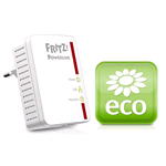 POWERLINE AVM FRITZ!Powerline 510E Set International 500Mbit/s Collegamento ethernet LAN Bianco 2pezzo(i)