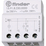 Relè ad impulsi elettronico finder 139182300000 1 contatto 10a 230v ac