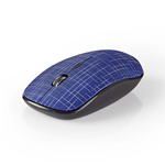 Mouse Wireless | 1600 DPI | 3 pulsanti | Blu