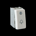 PULSANTE 1P NA LUMINOSO LIFESTYLE LF PUSH LIGHT BUTTON SWITCH WHITE