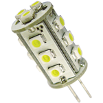 LAMP.LED G4 15SMD3528 3000K 0,8W 10-30V 13DX33HMM 65LM 360°